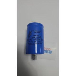 Elektrolytkondensator, 10 mF, 100 V, -10/+30 %