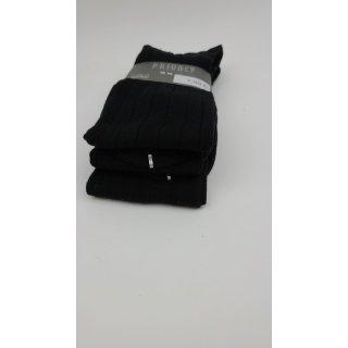 Privacy Underwear 3er Pack Socken Schwarz - Gr. 42-43