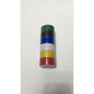 Roller 6 teiliges PVC Klebeband Set - bunt