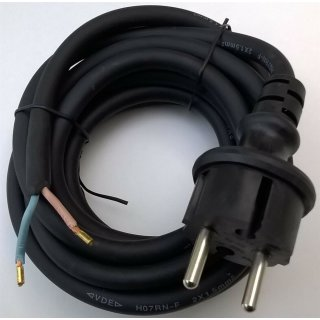 EGB Anschlußleitung H07rn-f 2x1 5mm² schwarz 3m