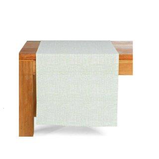 Tischläufer Gitter, B:40cm x L:150 cm, mintgrün