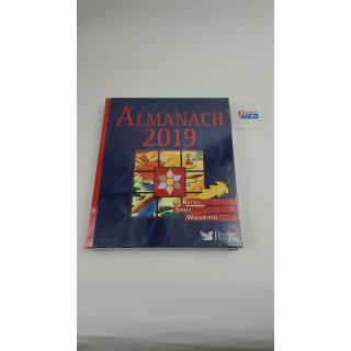 Almanach 2019: 365 Tage - Rätsel, Spiele,