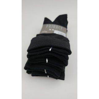 Privacy Underwear 5er Pack Socken Schwarz