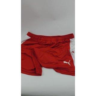 Puma Herren Shorts  rot weiß - XL