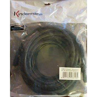 Kindermann 4K60 HDMI 2.0. 10 m - Digital/Display/Video - Netzwerk 5809002010 4K