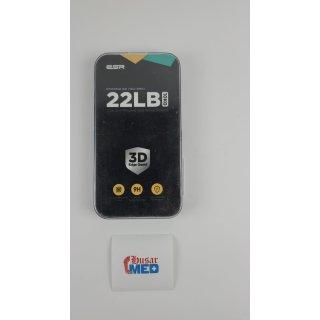 ESR kompatibel mit iPhone 6/6S/7/8 Displayschutzfolie [3D-Abdeckung, maximaler Schutz] iPhone 8/7/6S/6 Premium Displayschutzfolie aus gehärtetem Glas - einfacher Einbaurahmen für 4.7 Zoll (Schwarz)