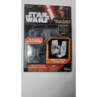 Fascinations Metal Earth MMS267 Star Wars Special Forces TIE Fighter