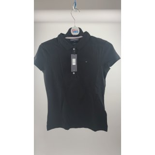 Tommy Hilfiger Damen Poloshirt NEW CHIARA STR PQ - Gr. M