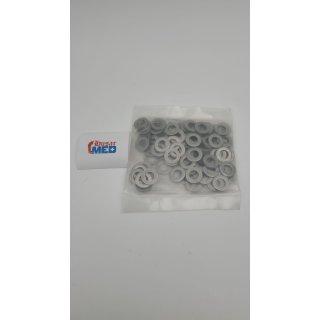 Unterlegscheiben (Standard) M10 DIN 125 Edelstahl A2 (100 Stück) - V2A Beilagscheiben U-Scheiben Unterlegscheibe