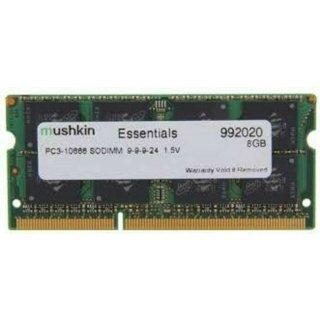 Mushkin 992020 (8GB, PC3-10666 (DDR3-1333), DDR3 SDRAM, 1333 Mhz, SO DIMM 204-po