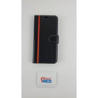 Galaxy J4 + Ledertasche, Samsung J4 Plus Brieftasche Tasche, Stilvolle Flip-Case