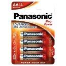 Panasonic - Pro PowerLR6 AA Mignon Batterie - 4er