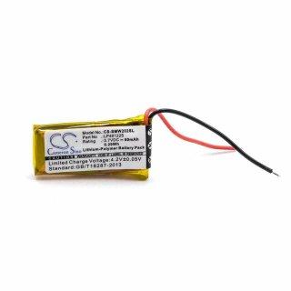 vhbw Li-Polymer Akku 80mAh (3.7V) für MP3-Player Musik Player Sony NWZ-W202, SBH