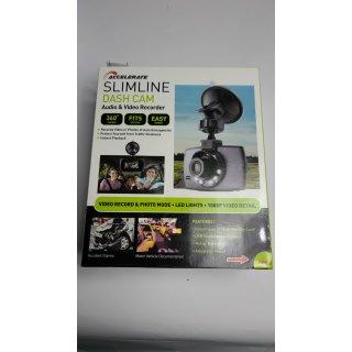Dashcam Full HD SLIMLINE Audio & Videorecorder Rückspiegel Kamera 2,4 LCD 1080P