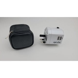 Weltweiter Reiseadapter, iBoxCube® Neuer internationaler Stecker [US UK EU AU]