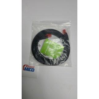CSL Cat.6 Flachband Netzwerkkabel (RJ45) mehrfach geschirmtes UTP Gigabit 3 m