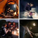 Nachtlicht, AVANTEK automatische tragbare Bewegung aktiviert Camping Laterne