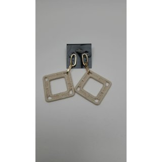 ASOS DESIGN - Ohrringe mit fadenumwickeltem, quadratischem Tropfen 1413063