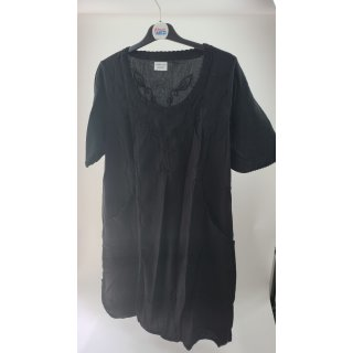 Mona Lisa Damen Kleid in schwarz
