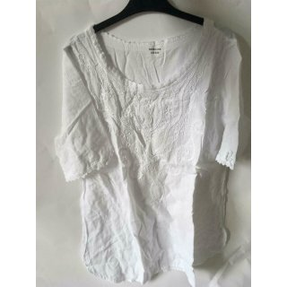 Mona Lisa Damen Shirt in weiß