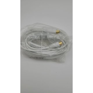 15m HB-DIGITAL HDTV Antennenkabel Anschlusskabel Koax Stecker auf Buchse