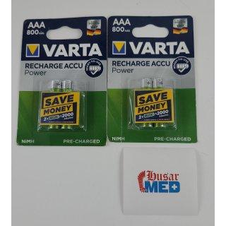 Varta Ready2Use HR03 Micro (AAA)-Akku NiMH 800 mAh 1.2 V 4 St.