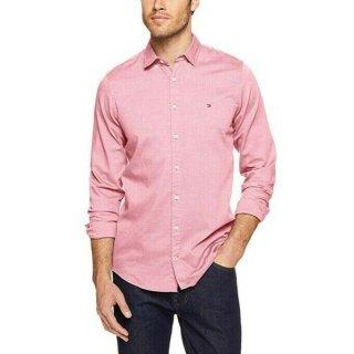 Tommy Hilfiger Herren Freizeithemd Slim Classic Dobby Shirt - Gr. XL