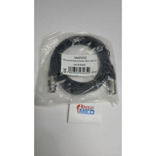 Audio-Mikrofonkabel Patchkabel - XLR-Stecker auf XLR-Buchse, schwarz