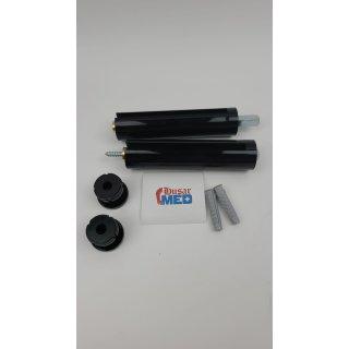 HEWI Serie 477 Glasplattenhalter für 8 mm Glasplatten Farbe: Schwarz