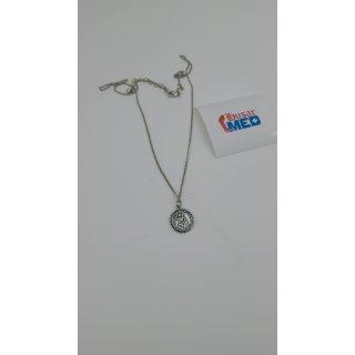 Reclaimed Vintage Inspired St Christopher Anhänger Halskette
