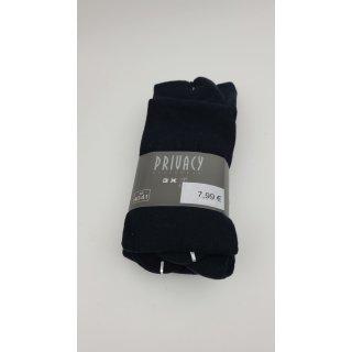 Privacy Underwear 3er Pack Socken Navy