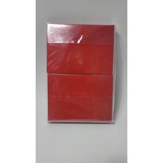 docsmagic 100 Mat Red Card Sleeves Standard Size 66 x 91 - Rot - Kartenhüllen