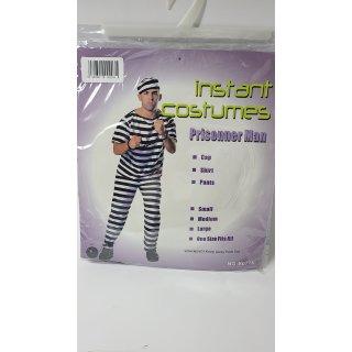 instant costumes Gefängnisinsasse Kostüm Gr.M