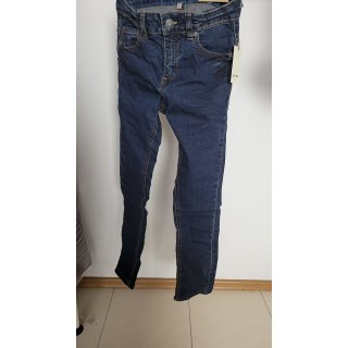 Review for Teens Stone Washed Slim Fit Jeans - Dunkelblau  GR.134