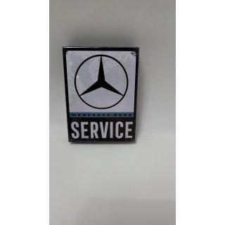 """Fotomagnet """"Mercedes-Benz - Service"""""""