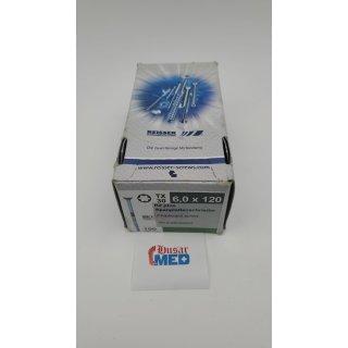 Spanplattenschrauben R2 Plus Teilgewinde Fräsrippen, Kerbspitze Flachsenkkopf Reisser