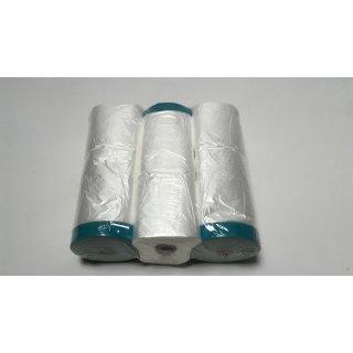 3 x Colorus Masker Tape PLUS UV Gewebe 270 cm x 16m Abdeckfolie
