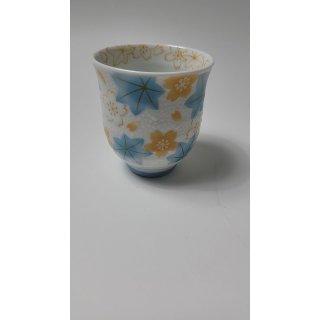 JAPAN - teacup  Momiji blau  - Made in Japan