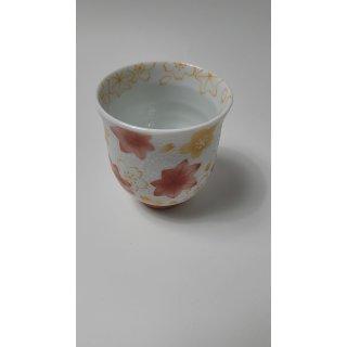 JAPAN - teacup  Momiji rot  - Made in Japan