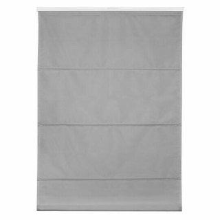 Raffrollo Fensterschmuck  Lichtblick grau 110x130 cm