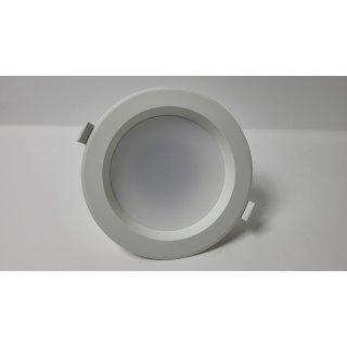 LED-Einbauleuchte Arian Downlight Weiß LED Warmweiß Lampenwelt Bad IP44 15W