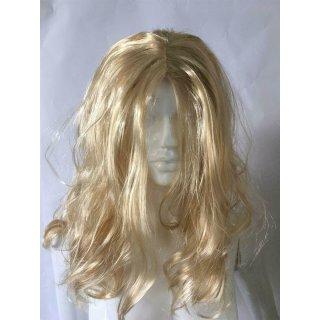 Blone Langhaarperücke mit gewellten Haar - 60cm