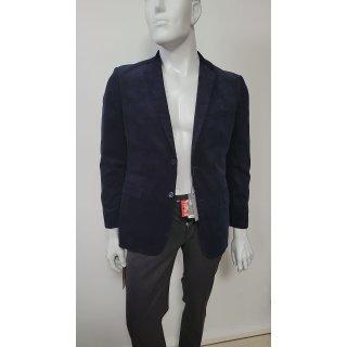 MAN_CODE Sakko aus  Baumwolle dunkelblau