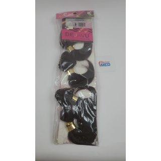 Dejavu Collection Afro Bundles 4 Stück braun/violett