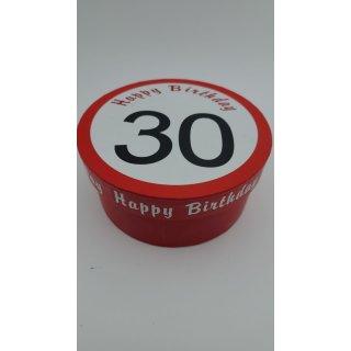 """Geschenk-box """"happy Birthday"""" 30"""