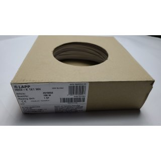Einzelader LAPP H05V-K 1x1 100m