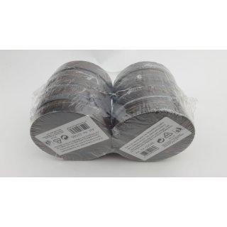 Zeller 2585 Kork-Glasuntersetzer-Set 4-teilig, Durchmesser 9,5 cm, braun