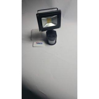 50W LED Lampe Strahler Fluterlichtstrahler +Bewegungsmelder IP65
